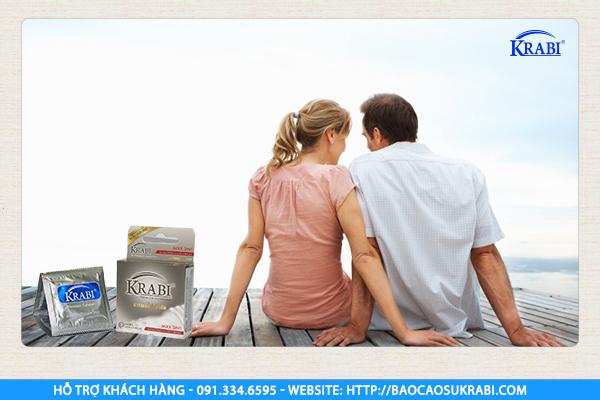 Bao cao su gân, gai, gel bôi trơn Krabi là một trong những sản phẩm bán chạy nhất.