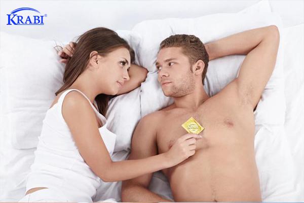 Bao cao su là trợ thủ đắc lực phòng chống viêm nhiễm vùng kín.