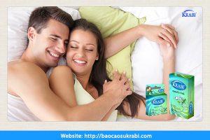 Bao cao su giúp đời sống vợ chồng viên mãn.