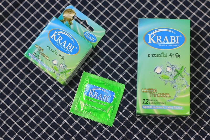 Thăng hoa cùng hương bạc hà the mát từ Krabi Ultra thin Cool